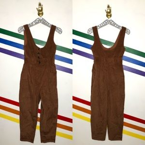 NEW Urban Outfitters corduroy jumpsuit